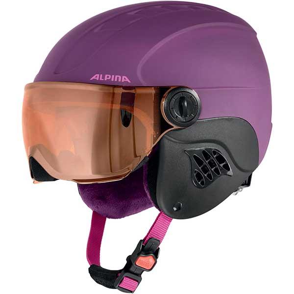 Шлем горнолыжный Alpina Sports CARAT LE VISOR HM