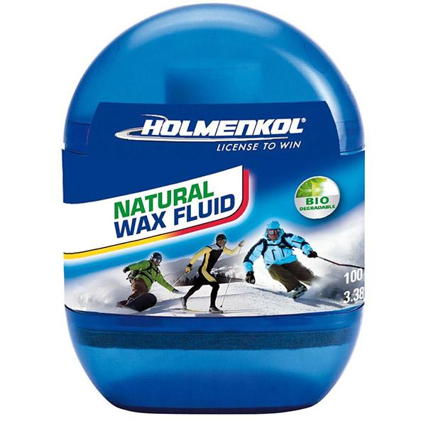 Мазь скольжения быстрого нанесения HOLMENKOL Natural Wax Fluid