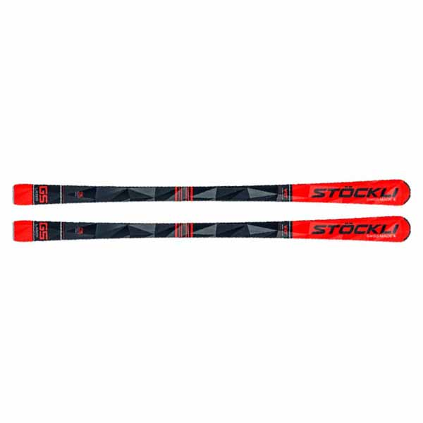 Stockli  лыжи горные Laser GS  MC12 red-white-black