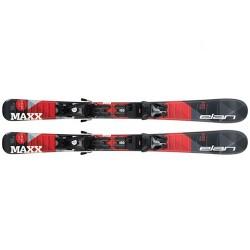 Elan  лыжи горные Maxx black-red QS el 4.5/7.5 shift solid-black