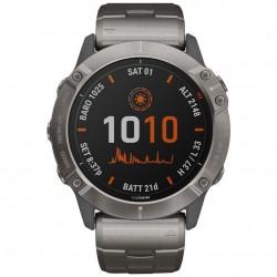 Garmin  часы с навигатором Fenix 6X Pro Solar