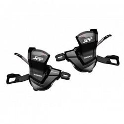 Shimano  комплект манеток XT deore 2/3x11-spd,w/o O.G.D, w/base cap,R-2050mm L-1800mm, black