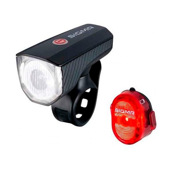 Комплект фонарей Sigma Aura 40 USB