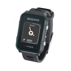 Sigma  часы с пульсометром Id. и GPS  Free