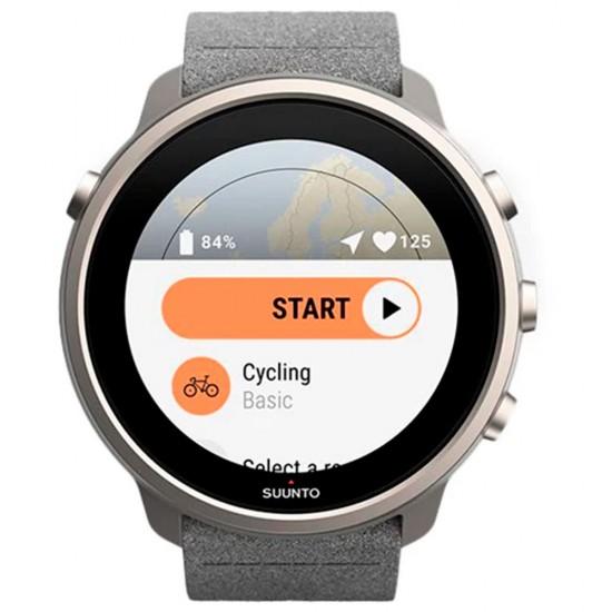 Suunto  часы 7 stone gray titanium