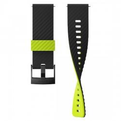 Suunto  силиконовый ремешок для часов 24 URB3 black lime