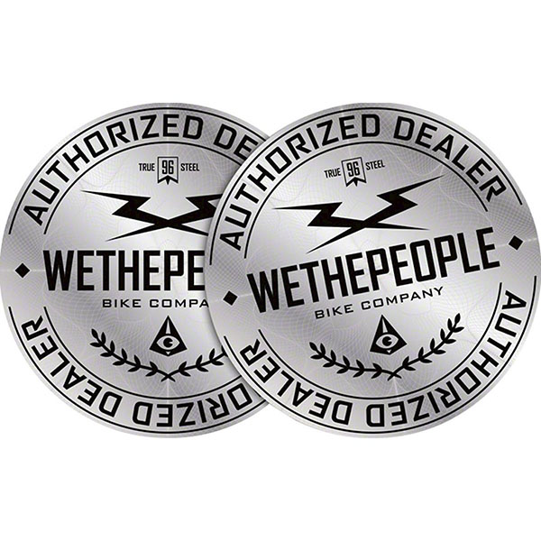 Наклейка Wethepeople Authorized Dealer