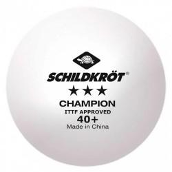 Шарик для настольного тенниса Donic Schildkrot TT-Ball 3 SternPoly 40+ (1шт) -коробка 120шт