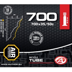 Камера Author Tube AT-CROSS-700C Wide AV40 700x35/50C
