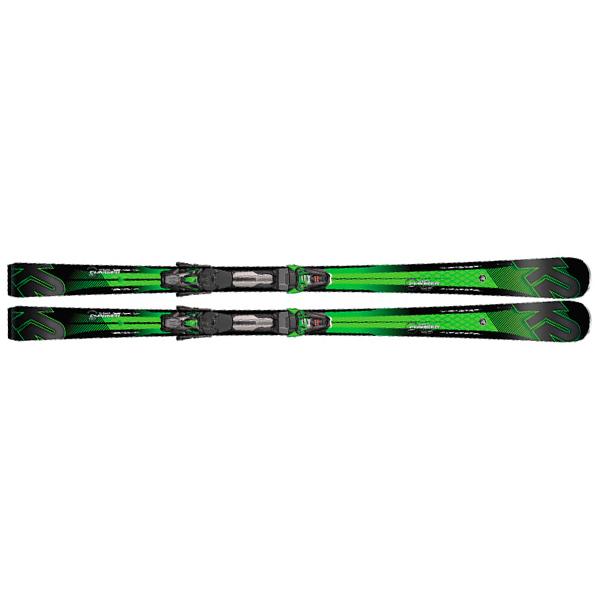 Лыжи горные мужские K2 Super Charger MXCell 12 TCx Rmotion 2 (2016/2017)
