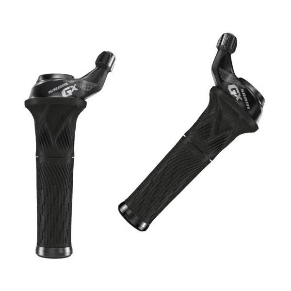 Шифтеры Sram GX Grip Shift set 11 Speed Rear 2 Speed Index Frontwith Locking Grip blk