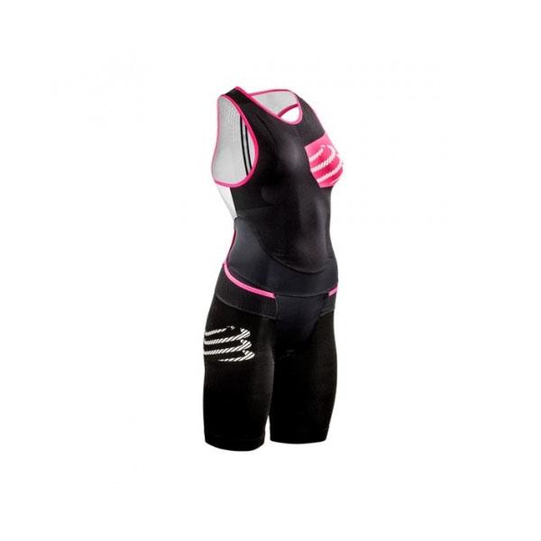 Женский костюм для триатлона Compressport TR3 Aero Trisuit