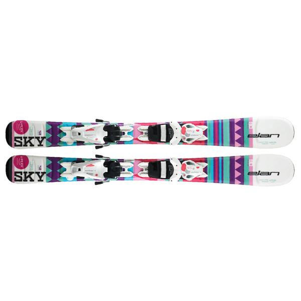 Лыжи горные детские Elan Sky Qs el 4.5/7.5 (2018/2019)
