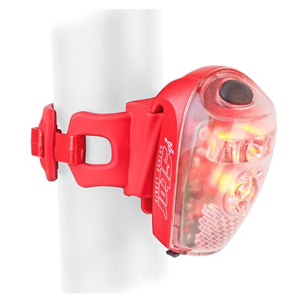Фара задняя Author A-Star USB  (red/clear lens)