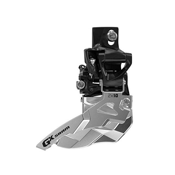 Передний переключатель Sram GX 2x10 High Direct Mount 38/36 Bottom Pull
