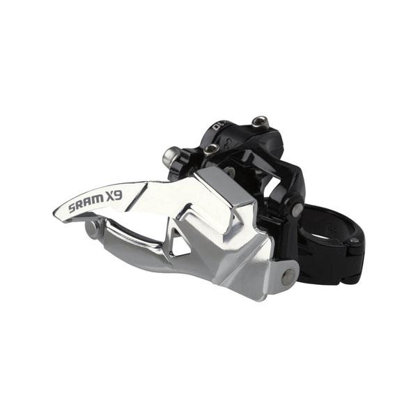 Передний переключатель Sram X-9 2x10 High Clamp 34.9 Dual Pull
